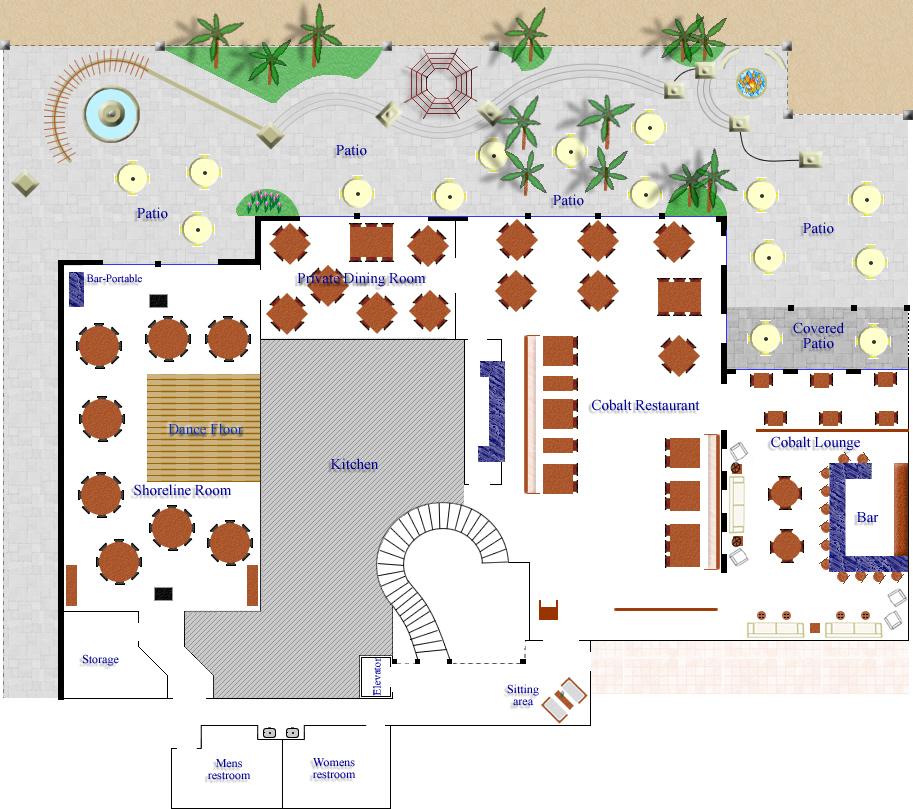 Cobalt Restaurant And Shoreline Room · Kimpton Vero Beach ...